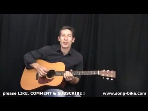 """Sixteen Tons"" by Merle Travis : 365 Riffs For Beginning Guitar !!"