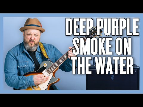 How To Play Deep Purple - Smoke On The Water