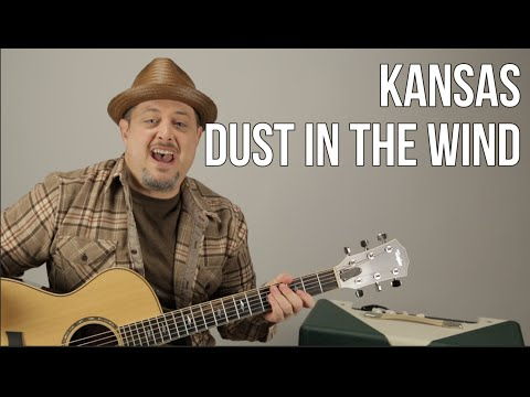 Dust in the Wind Kansas Guitar Lesson + Tutorial