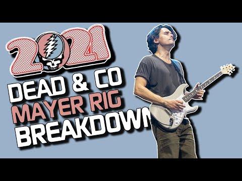 Mayer's 2021 Dead & Company Rig Breakdown