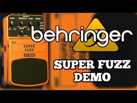 Behringer SF300 Super Fuzz Demo