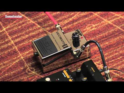 ISP Technologies Decimator II Noise Reduction Pedal Review - Sweetwater Sound