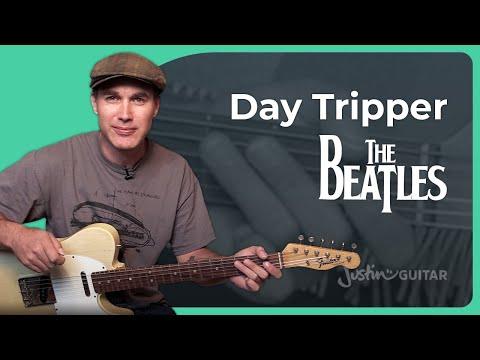 Day Tripper Guitar Lesson | The Beatles