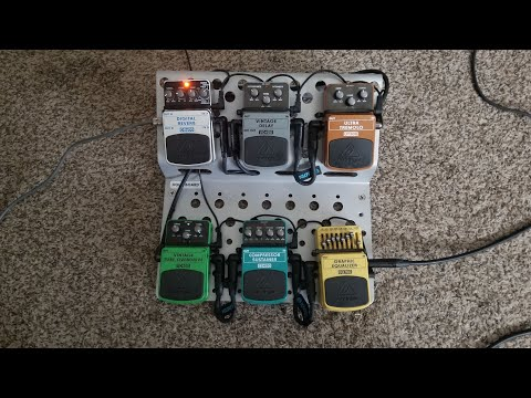 Checking Out Behringer Pedals For The First Time