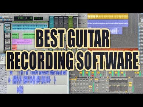 Best Guitar Recording Software