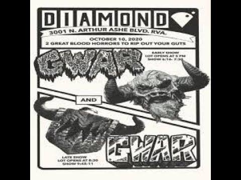 GWAR - Full Drive-In Show, Live at The Diamond in Richmond Virginia, 10/10/2020