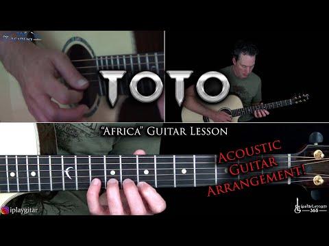 Africa Guitar Lesson (Full Acoustic Arrangement) - Toto