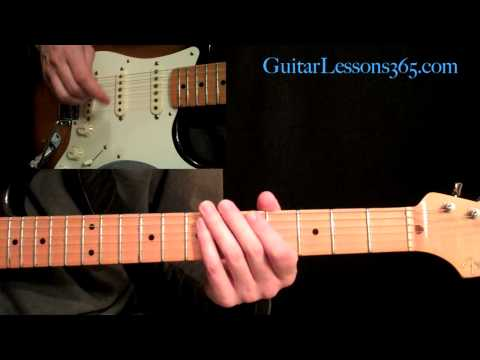 Ozzy Osbourne - Crazy Train Guitar Lesson Pt.1 - Main Riff & Verse