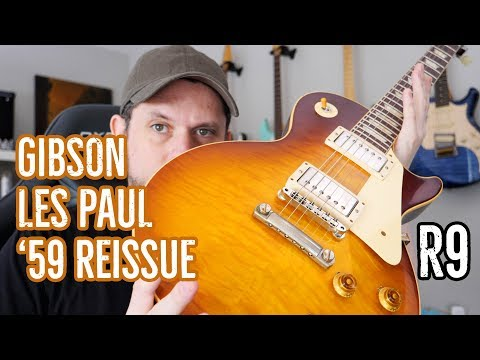 Gibson Custom Les Paul '59 VOS Guitar Review: Now Gibson and I are Both Bankrupt. R9 60th!