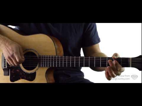 Guitars, Cadillacs - Dwight Yoakam - Guitar Lesson and Tutorial