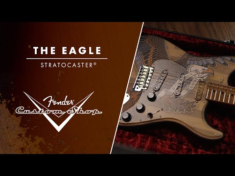 """Building """"The Eagle"""" Stratocaster 