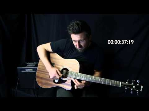IBANEZ AW54CE ACOUSTIC - 60 Second Review