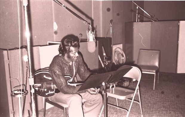 Chuck Berry Recording Session