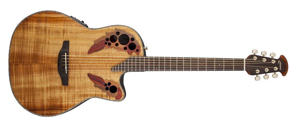 Ovation CE44P-FKOA Low Action Acoustic Guitar