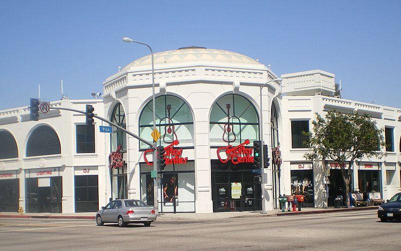 Guitar Center LA