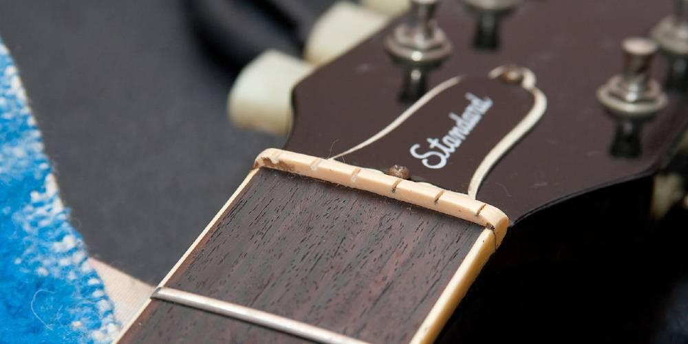 Epiphone Les Paul Nut Repair And Replacement