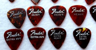 Fender Extra Heavy Picks Angus Young
