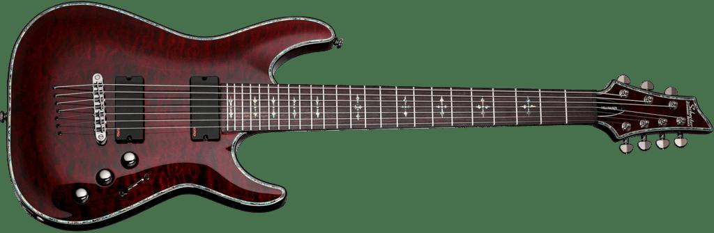 Schecter C7 Hellraiser 7 String Guitar