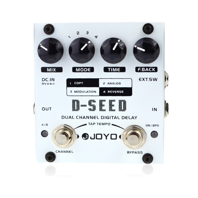 JOYO D-Seed - Best Delay Pedals
