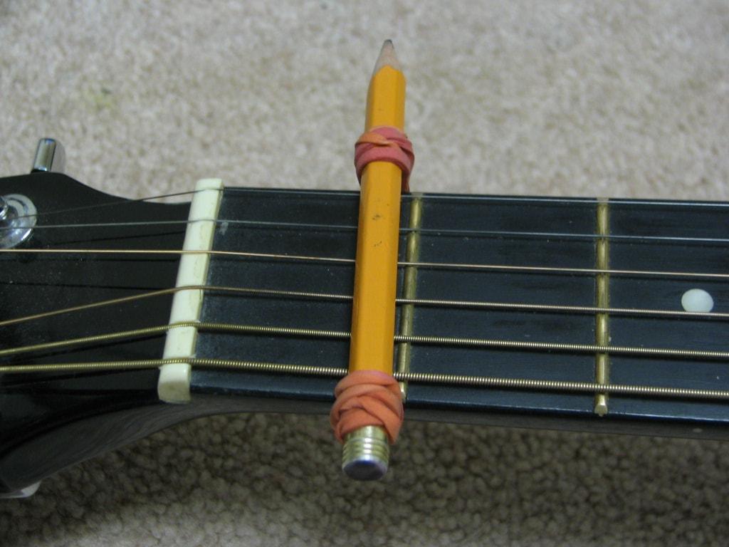 Easy DIY Guitar Capo