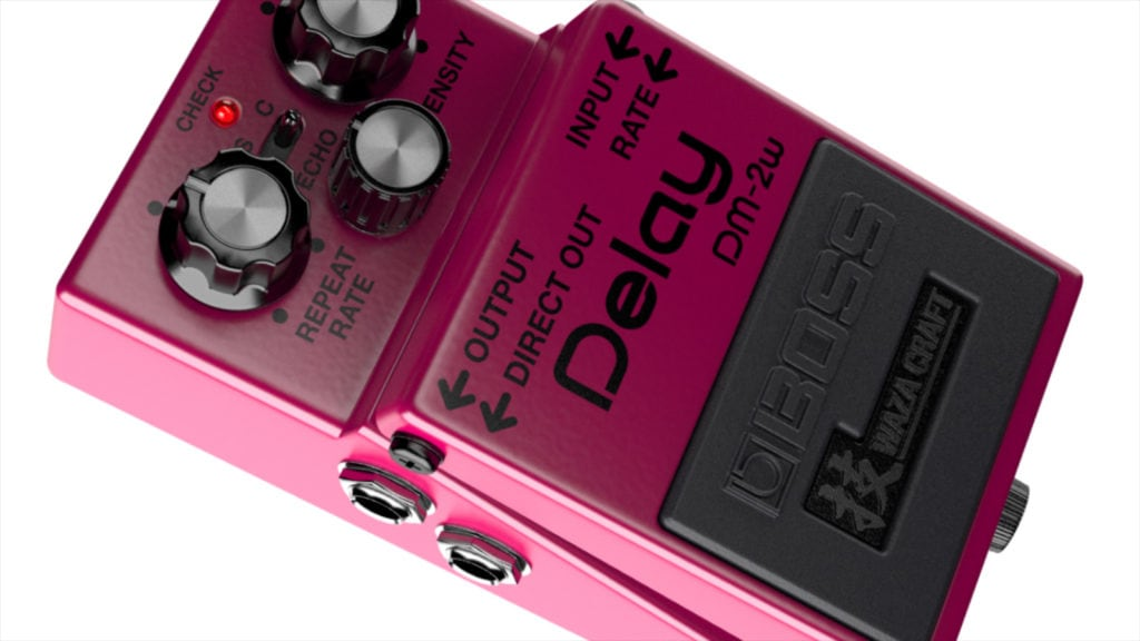 Boss DM-2W - Best Delay Pedals
