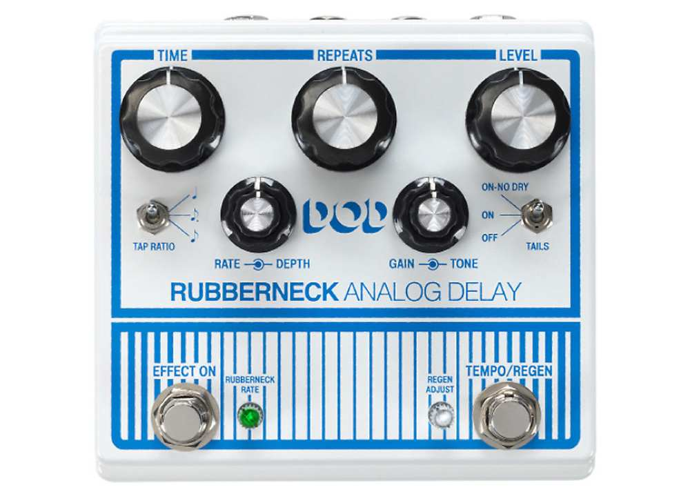 DOD Rubberneck - Best Delay Pedals