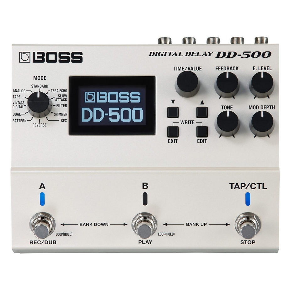 Boss DD-500 - Best Delay Pedals