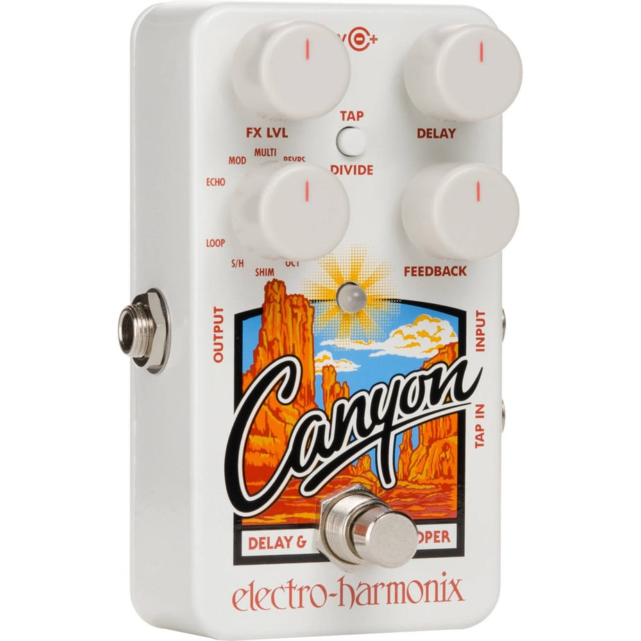 Electro Harmonix Canyon - Best Delay Pedals