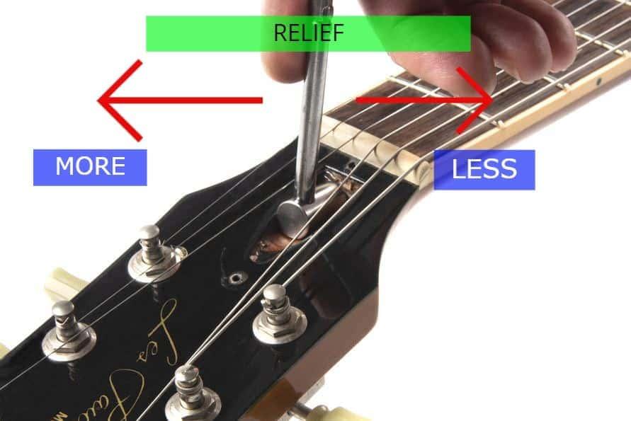 guitar truss rod adjustments