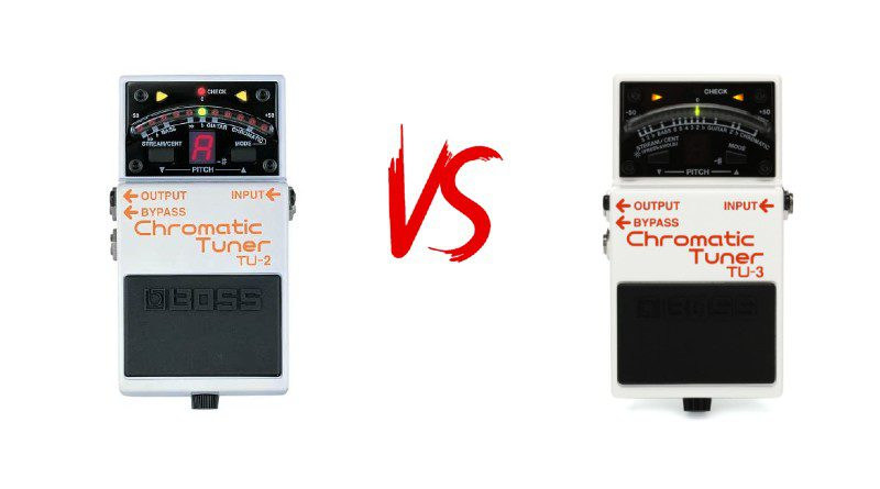 Boss TU2 vs TU3