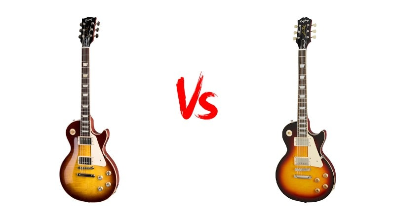 Gibson Les Paul Standard Vs Epiphone Les Paul Standard