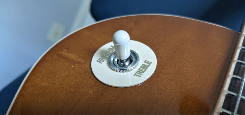 How To Spot A Fake Gibson Les Paul - Pickup Selector Switch