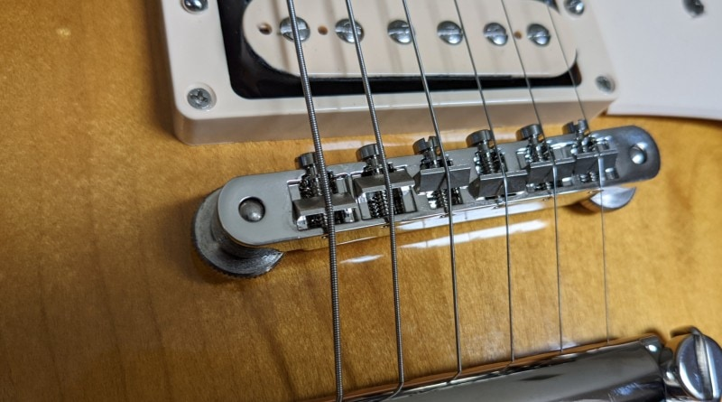 How To Spot A Fake Gibson Les Paul - Bridge Posts
